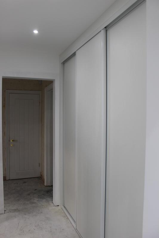 Image 40 - New hallway hidden storage space