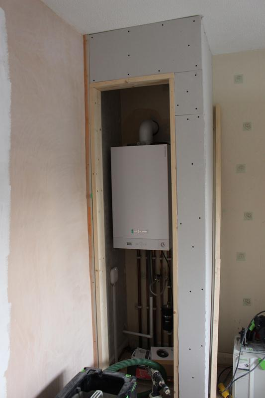 Image 18 - New boiler fitted in bedroom