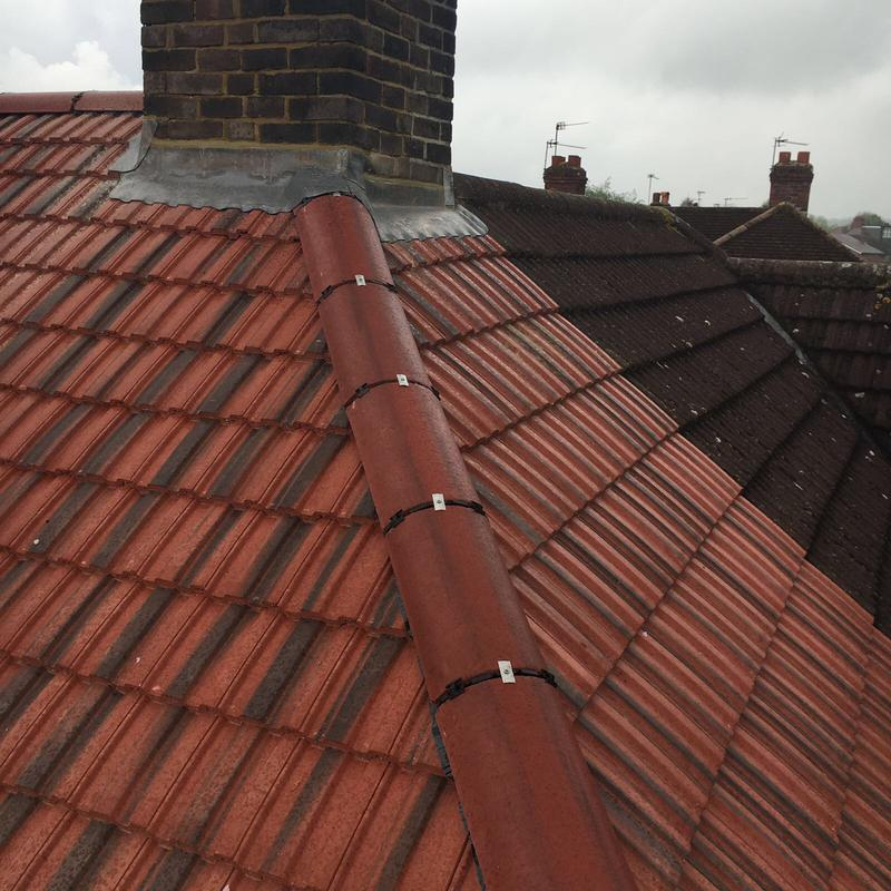 Image 12 - Tiled roof 49's with dry ridge system
