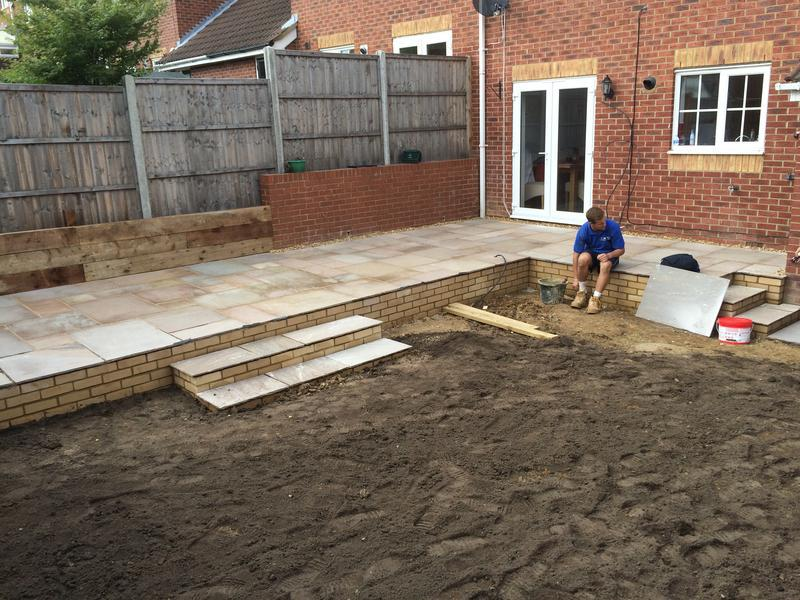 Image 2 - Nearing completion of a full Garden Landscape Project in Stevenage.
