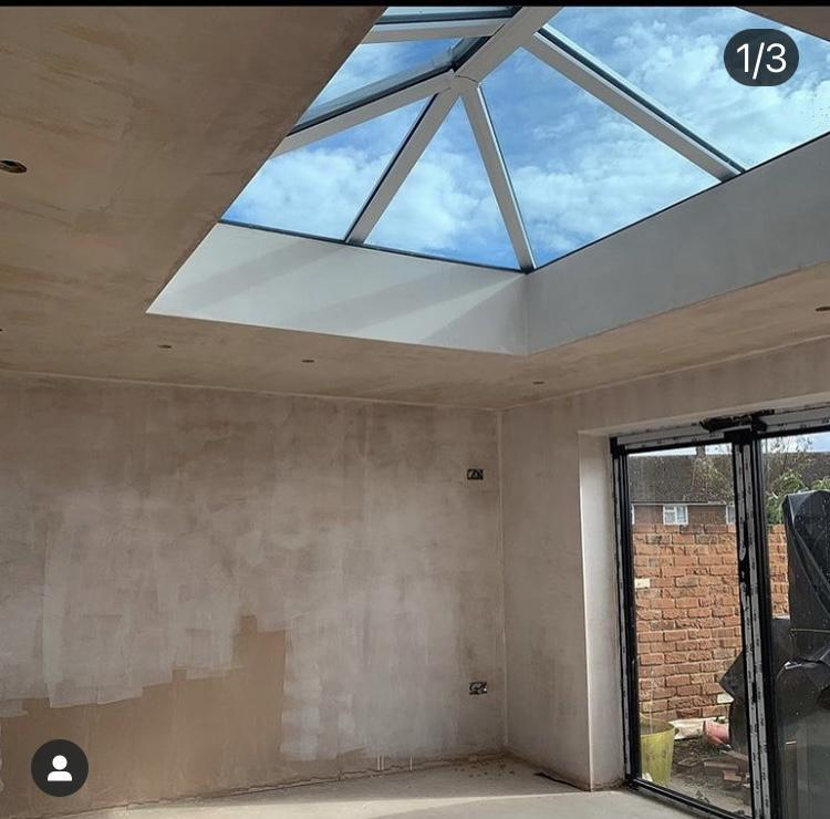 Image 8 - Rear extension with roof lantern, May 2020.