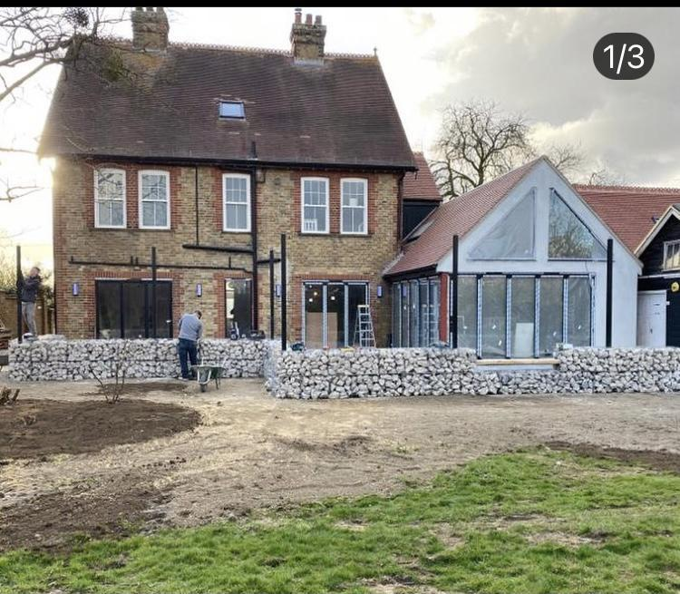 Image 4 - Manor House Renovation with side extension, April 2020.