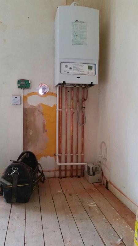 Image 13 - Boiler Installation