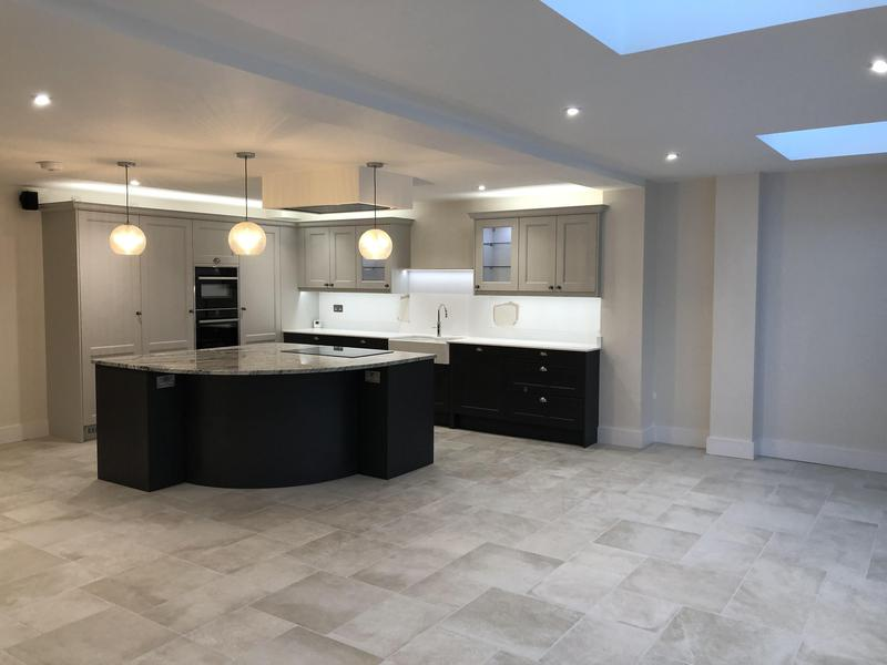 Image 17 - Amazing kitchen installation which formed part of an extension extension and renovation project in St.Albans
