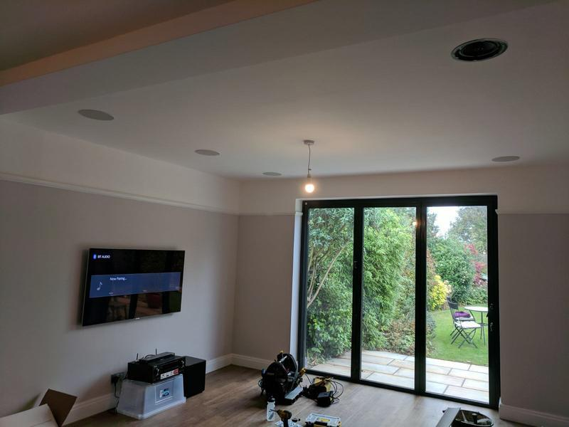Image 12 - In Ceiling speakers and sound system