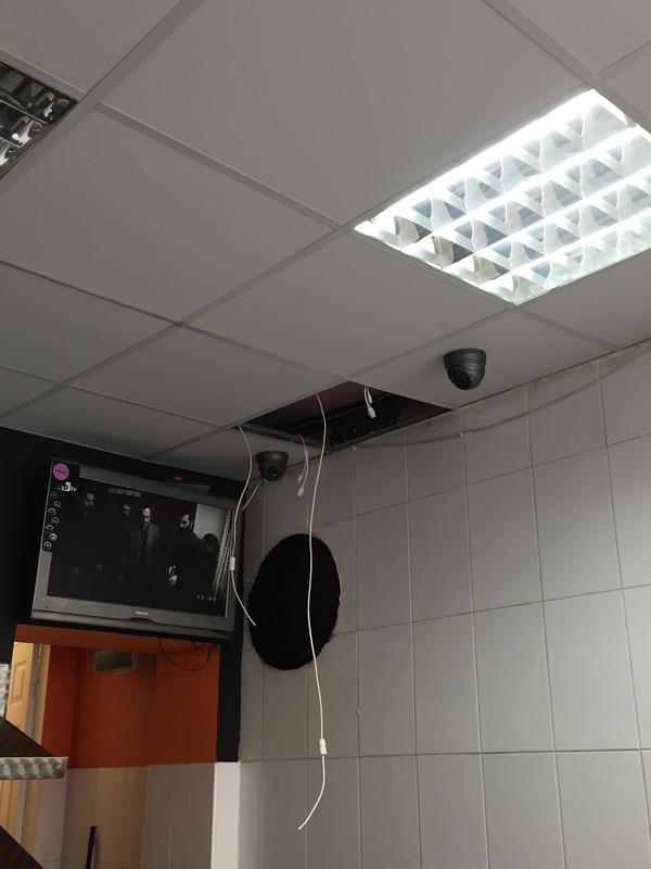 Image 42 - Install of new cctv cameras