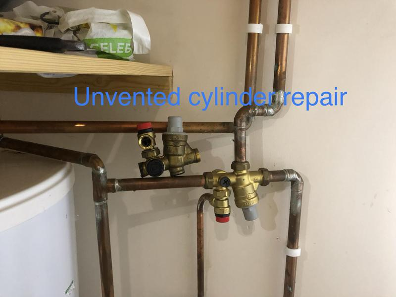 Image 8 - Cold water multi block replacement. Unvented cylinder installation and repairs service