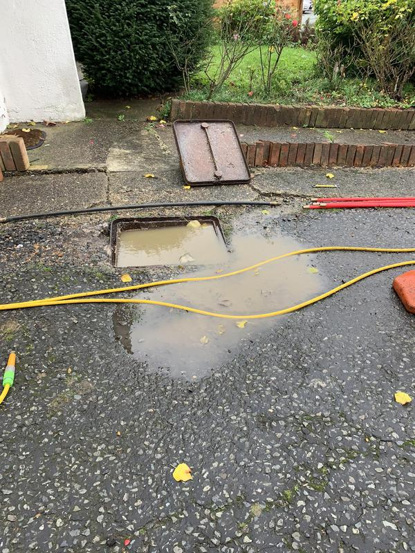 Image 1 - Called out to clear a blockage here in Bexley. Drain Collapse under driveway. As a panel contractor for a loss adjuster I saved the customer thousands, by informing them that this is an insurable peril, accidental damage claim.