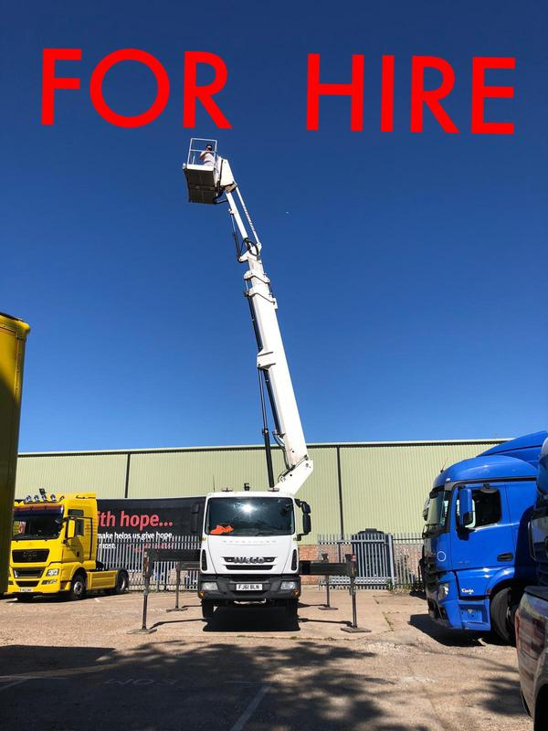 Image 42 - We are now offering access platform hire 22 meter working height 17 meter of out reach on a truck mount with fully trained IPF operator