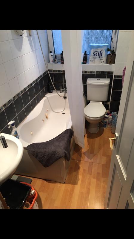Image 21 - Before bathroom renovation