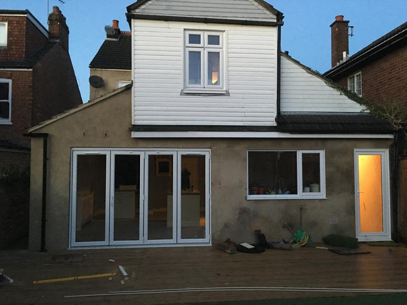 Image 22 - side extension with bi folds