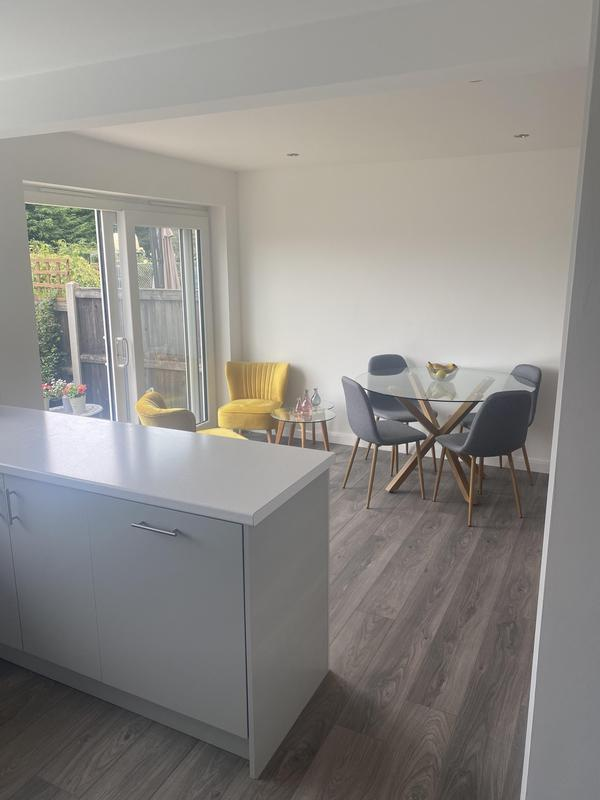 Image 26 - Kitchen knock through to make modern family room. Upgraded existing kitchen.