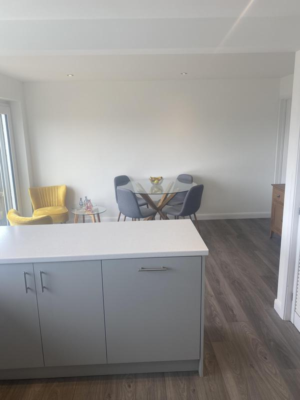 Image 22 - Kitchen knock through to make modern family room. Upgraded existing kitchen.