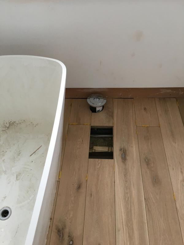 Image 75 - Freestanding bath and new floor in Colindale