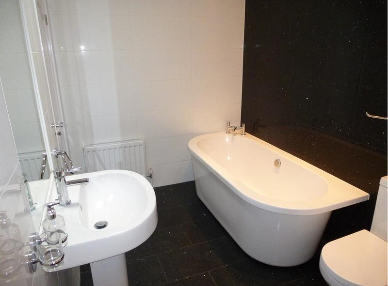 Image 6 - La Villetta - Main Bathroom, Comprises of; Toilet, Bath, Sink and walk in shower which you can't see from the photo unfortunately.