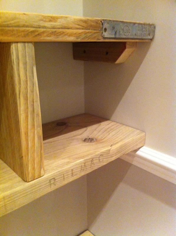 Image 17 - Scaffold board shelving