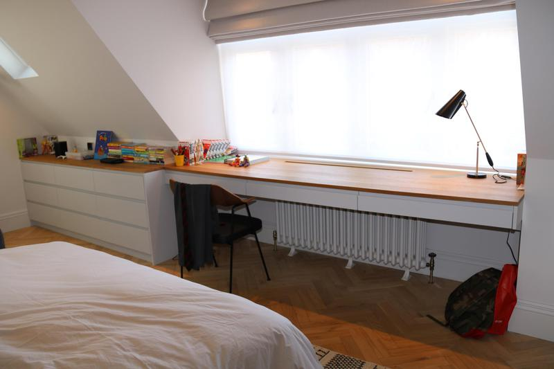 Image 21 - Oak desk
