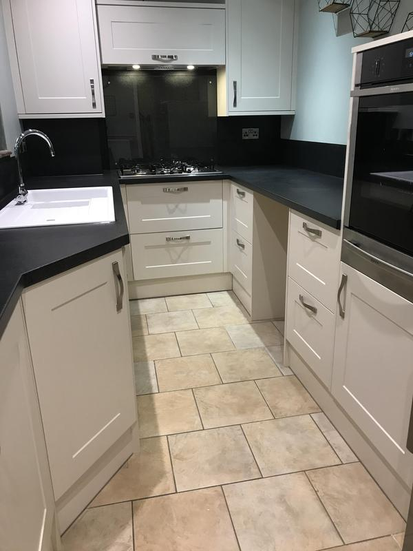 Image 8 - Customer 0154: Finished - Another quality finished kitchen as per design for a disabled customer.