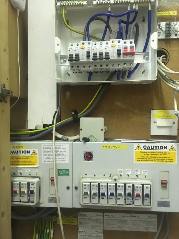 Image 1 - Additional fuse board