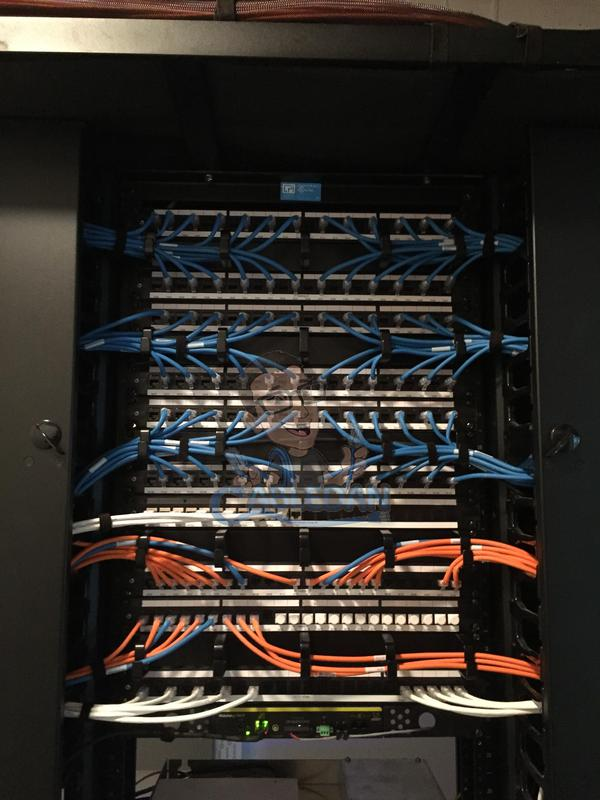 Image 22 - Neatly Patched patch panels