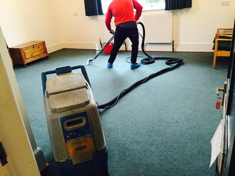 Image 21 - Commercial carpet steam cleaning in London