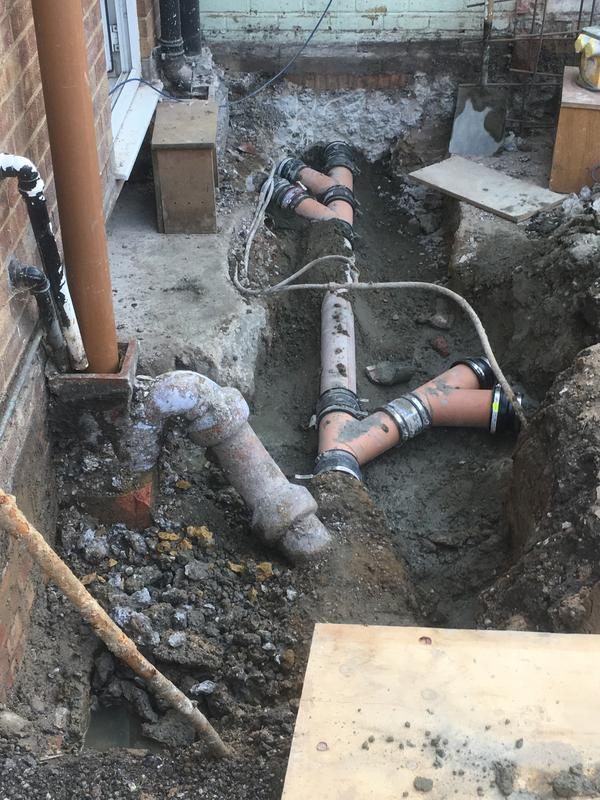 Image 34 - underground drainage is adjusted for new Extension