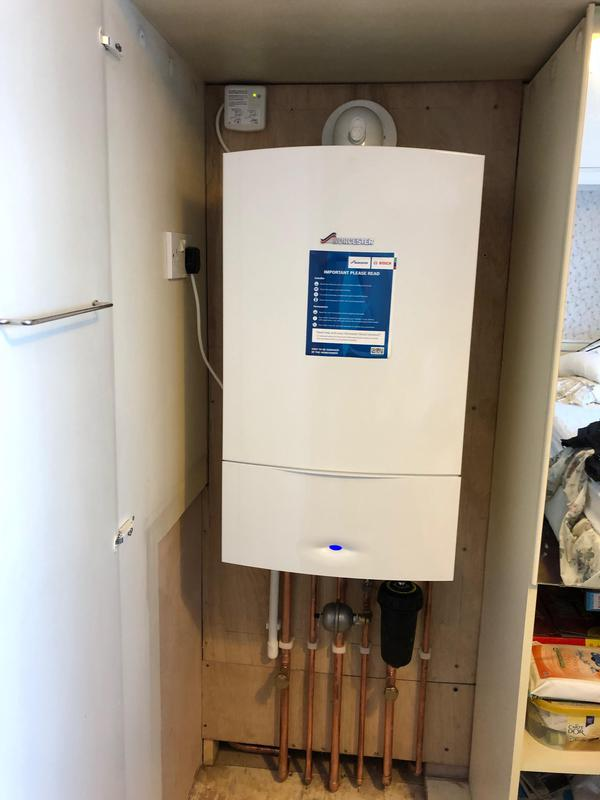 Image 5 - Job completed with new Worcester 42CDi with 10 year Worcester guarantee