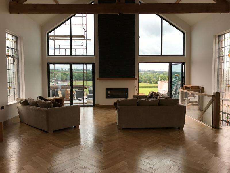 Image 4 - Residential internal including hardwood floor treatment
