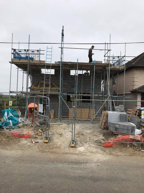 Image 2 - Construction of new three bed semi in Conington.