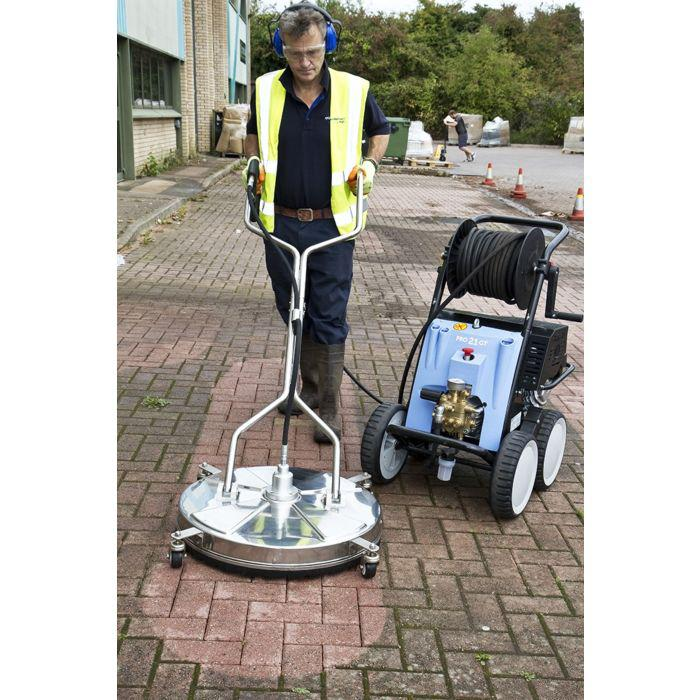 Image 1 - We only use industrial pressure washing equipment.