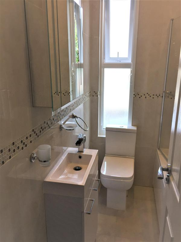 Image 28 - Removed old bathroom units and replaced. Fitted new shower unit and tiled whole bathroom