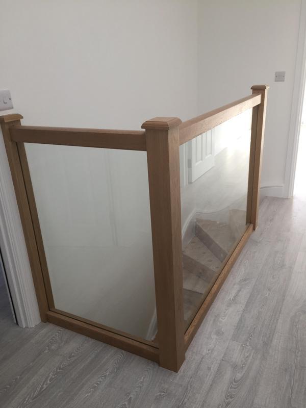 Image 22 - Bespoke balustrading, fitted new laminate flooring