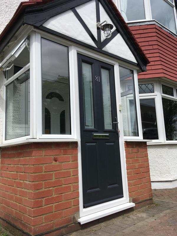 Image 65 - new composite door supplied and fitted with frame
