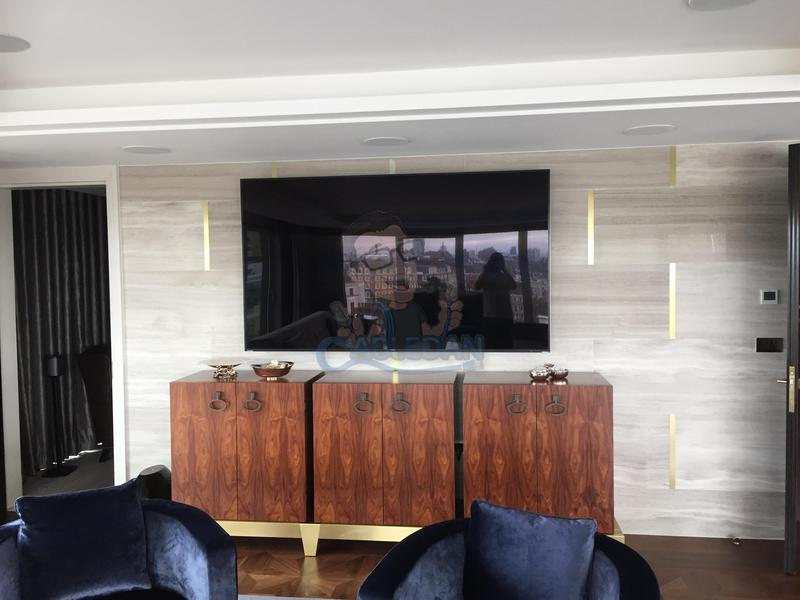 Image 12 - 85 inch Samsung TV installed in Kensington apartment