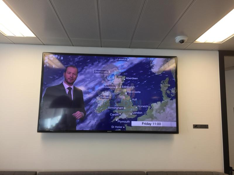 Image 3 - office tv installation