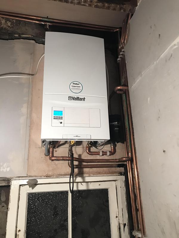 Image 1 - vaillant system boiler install