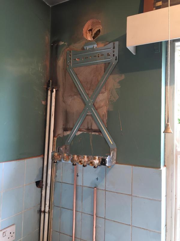 Image 12 - Worcester Bosch combi boiler install