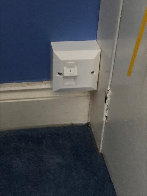 Image 27 - One of the CAT6a data sockets we installed at a house in Streatham.