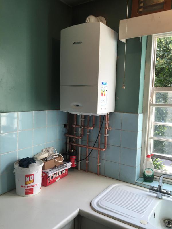 Image 11 - Worcester Bosch combi boiler install