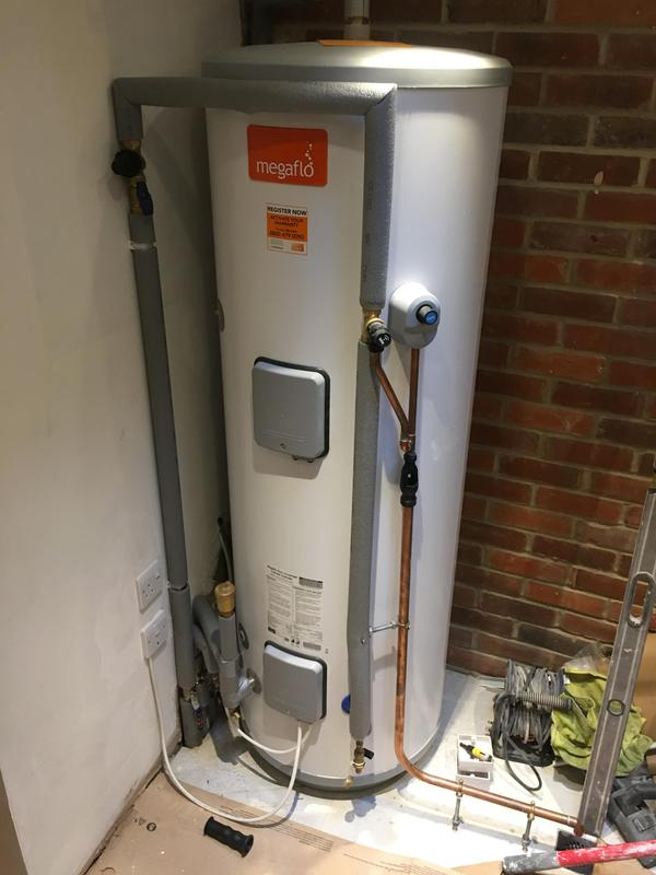Image 5 - Unvented hot water cylinder installed