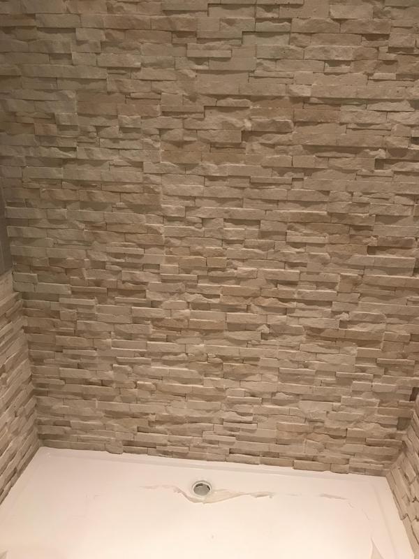Image 3 - shower room wall tiling