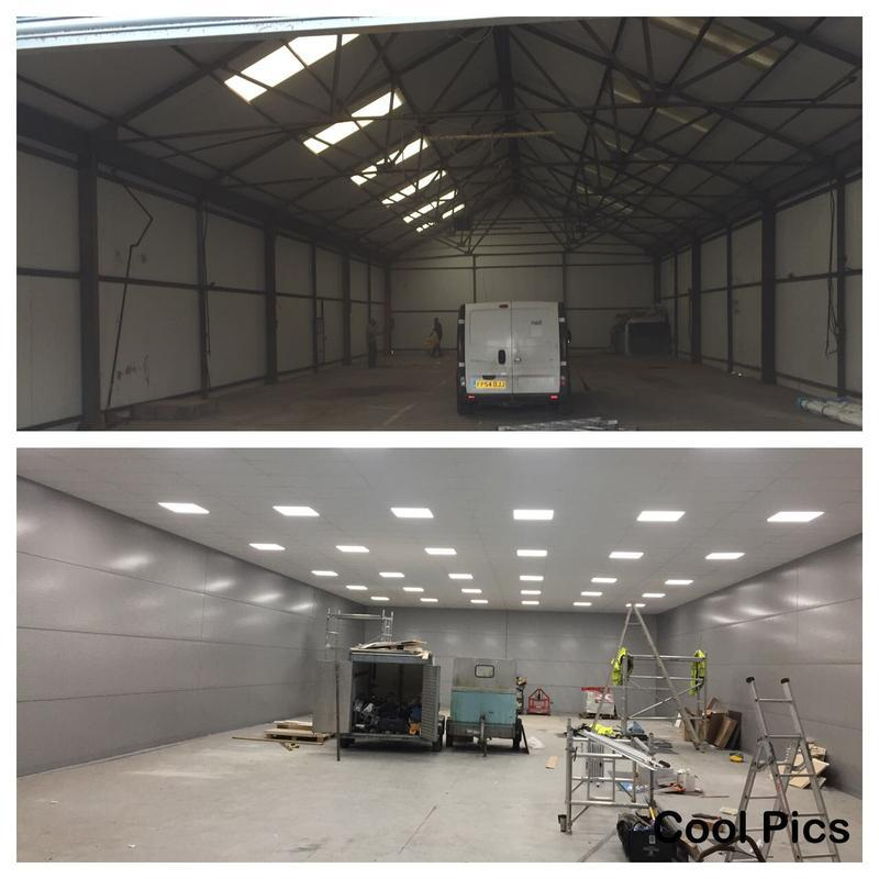 Image 22 - Commercial car sales renovation before and after
