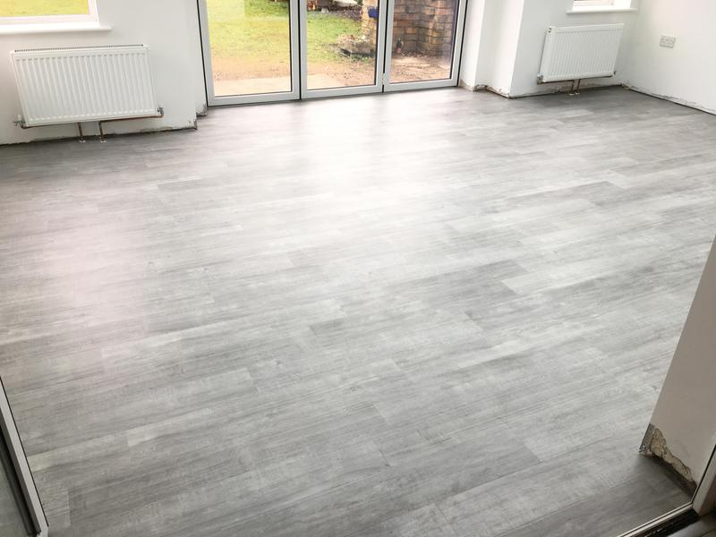 Image 91 - lvt flooring in a kitchen and new extension - floor levelled beforehand