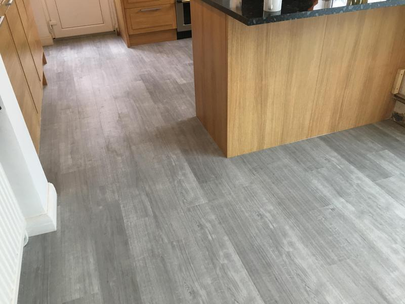 Image 92 - lvt flooring in a kitchen and new extension - floor levelled beforehand
