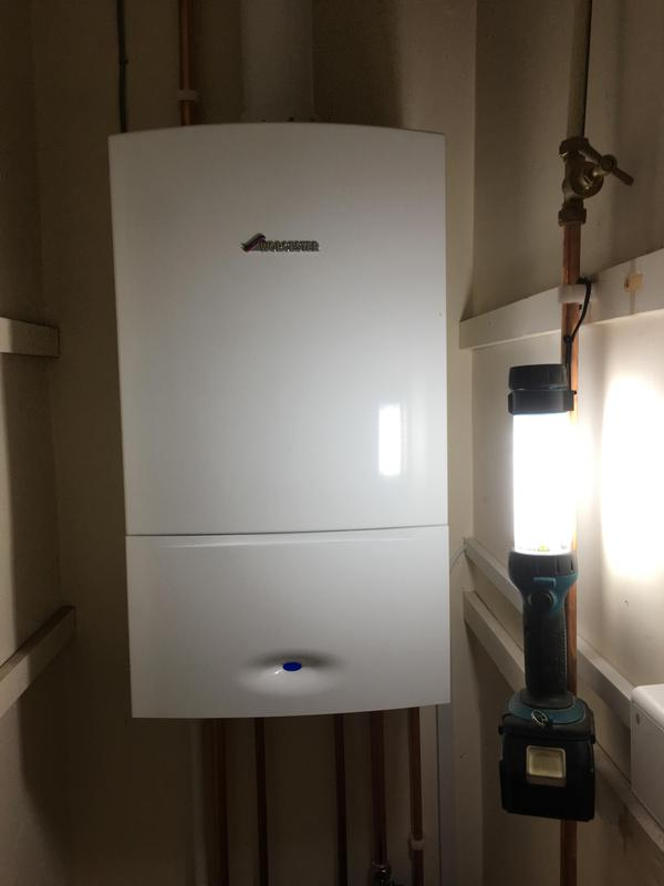 Image 2 - New Worcester combi boiler fitted to replace old tank fed system