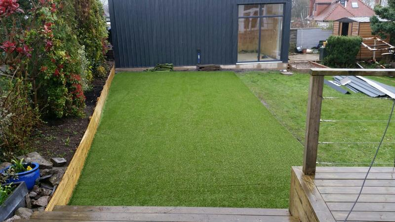 Image 25 - Outdoor all weather training area and new build 5m x 8m gym.