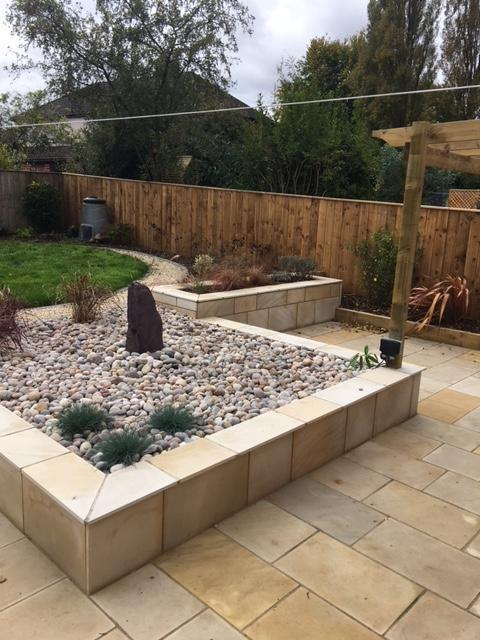 Image 15 - Natural Sandstone walling planter, Natural Sandstone patio