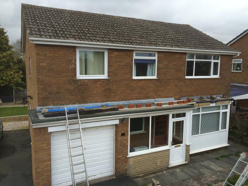 Image 27 - Old flat roof before Clitheroe