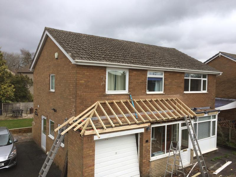 Image 28 - Pitched roof during Clitheroe