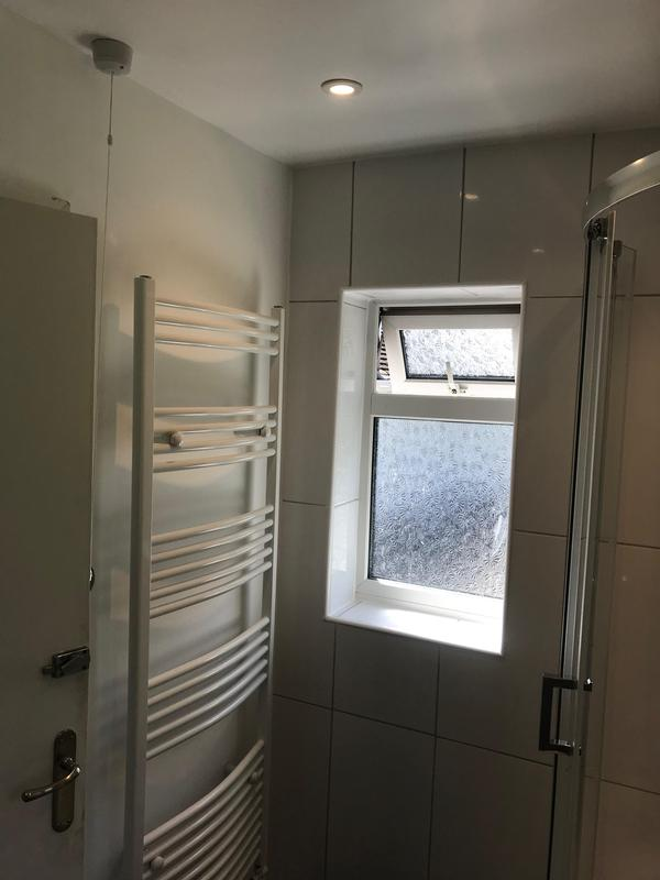 Image 2 - New bathroom spotlights and power for towel rail installed